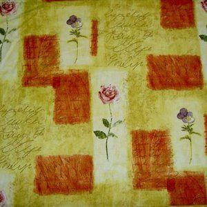 Vintage Cotton Waverly Rue D'Orleans Spice Fabric